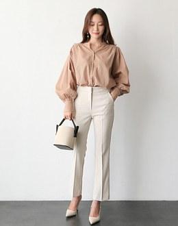It's slim date pants (* 2color)
