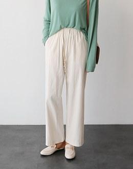 Folding pants (* 2color)