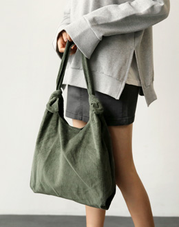Corduroy Eco bag (* 4color)