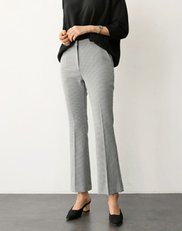 Boot cut pants (* 3color)