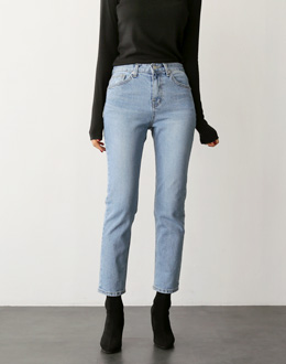 Semi-exhaust Straight pants