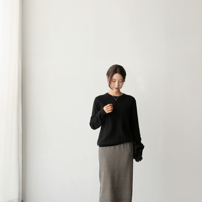Pine wool knit (* 4color)
