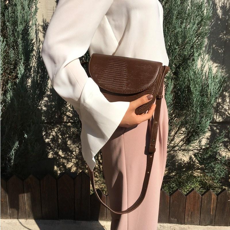Croco bag (* 3color)