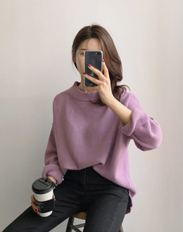 Round knit (* 5color)