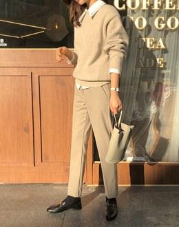 Slacks pants (* 2color)