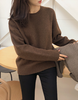 Polling Round knit (* 4color)