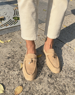 Toe Suede shoes (* 2color)