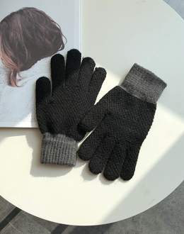 Wrist coloring gloves (* 2color)
