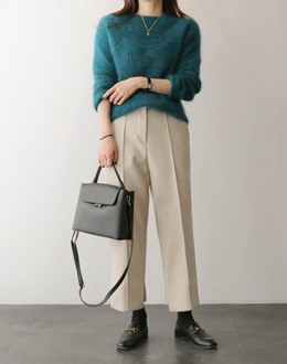 Brodin Wool pants (* 3color) Beige