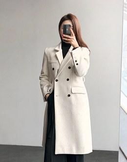 Mab wool coat (* 2color)