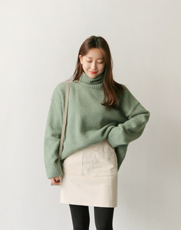 Live Turtle knit (* 6color)