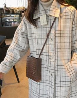 Mini crack bag (* 3color) Brown