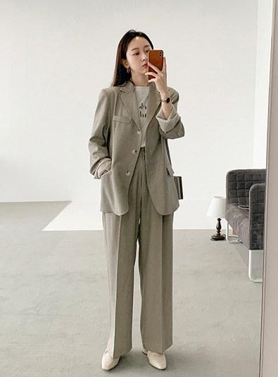 Mercier pants (* 4color) Beigem