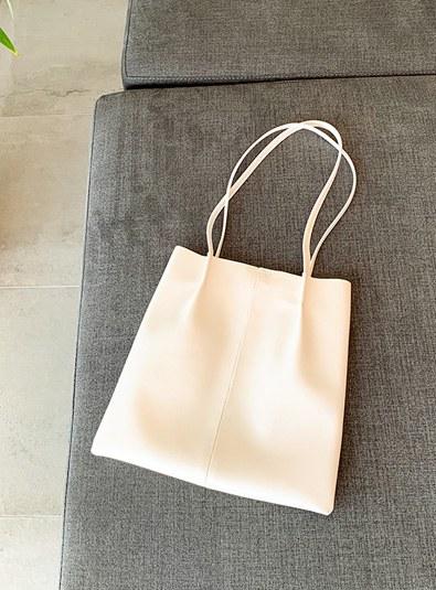 Simple shoulder bag (* 9color)