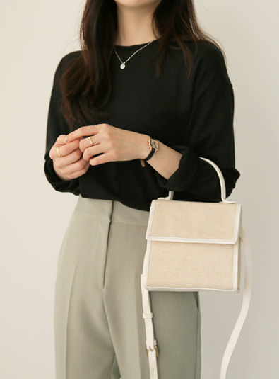 Square Mini bag (* 2color)