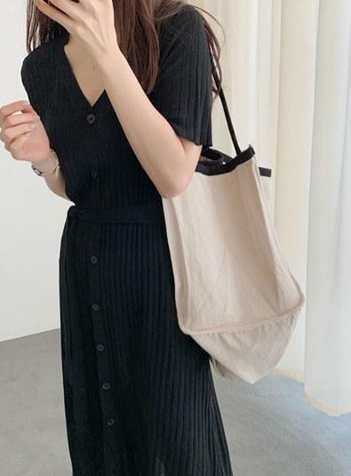Canvas square bag