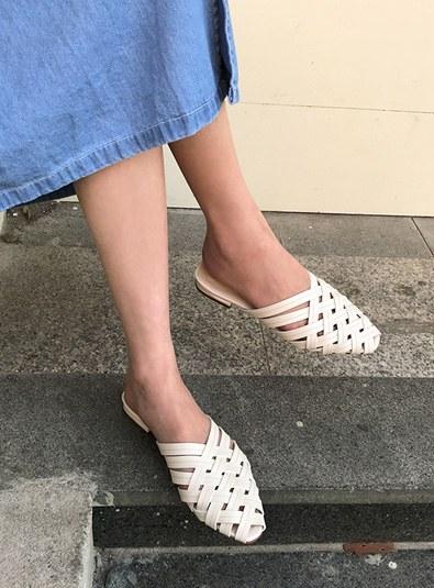 Cross shoes (* 2color)