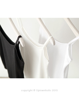 Pure silket straps Sleeveless shirts (* 3color)