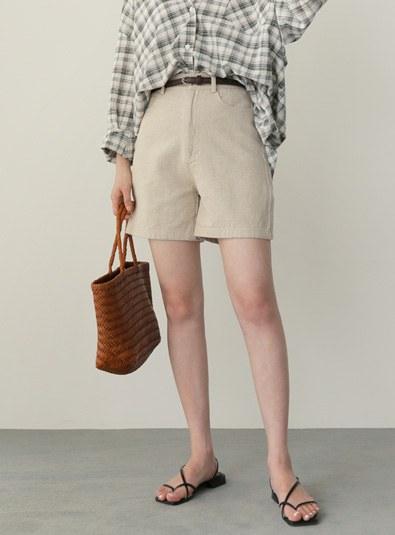 Mono Belt set pants (* 2color)