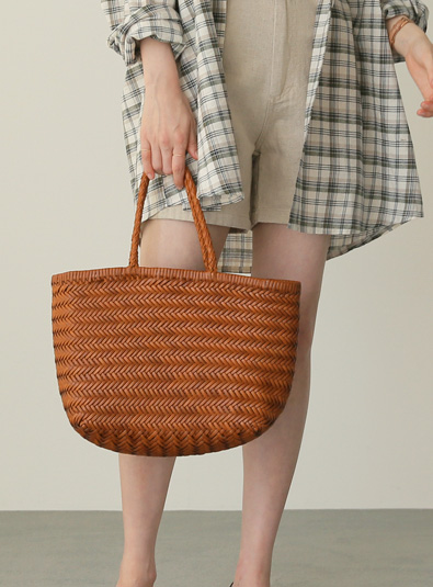 Brown city bag