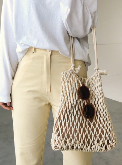 Summer net bag (* 2color)