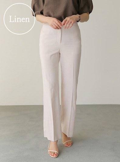 Dian linen slacks pants (* 2color)