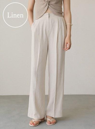 Core Linen pants (* 3color)