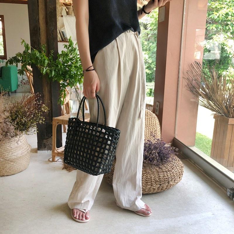 Linen moldia pants (* 3color)