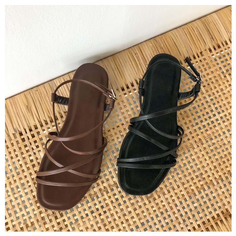 Monted shoes (* 2color) Black 235 245 250 Brown 225 245