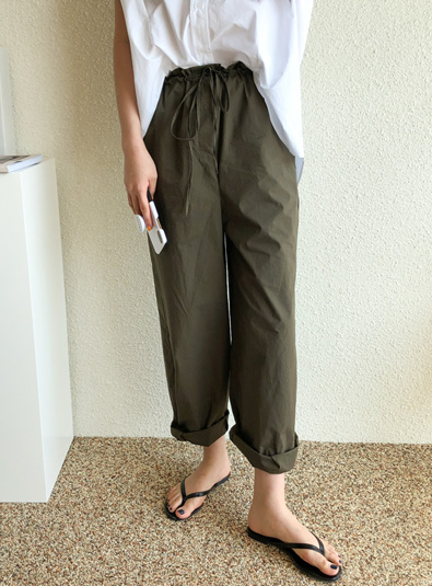 Failed pants (165cm ver.) Beige Black Purple