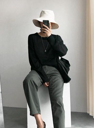 Linen Bug hat (* 3color)