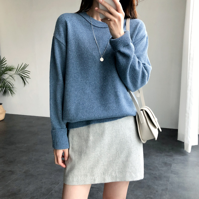 Roe Round knit (* 7color)
