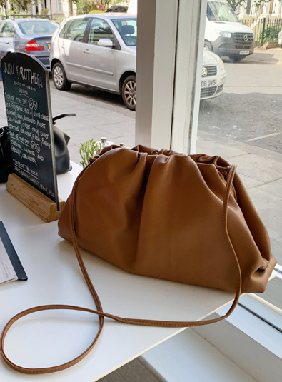Rummy Leather bag (* 2color)