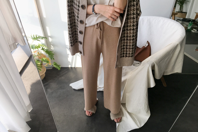 [Stock, order runaway ♥] Donny Wool pants (* 4color)
