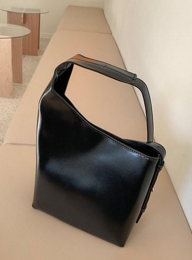 Unfooted shoulder bag (* 3color)