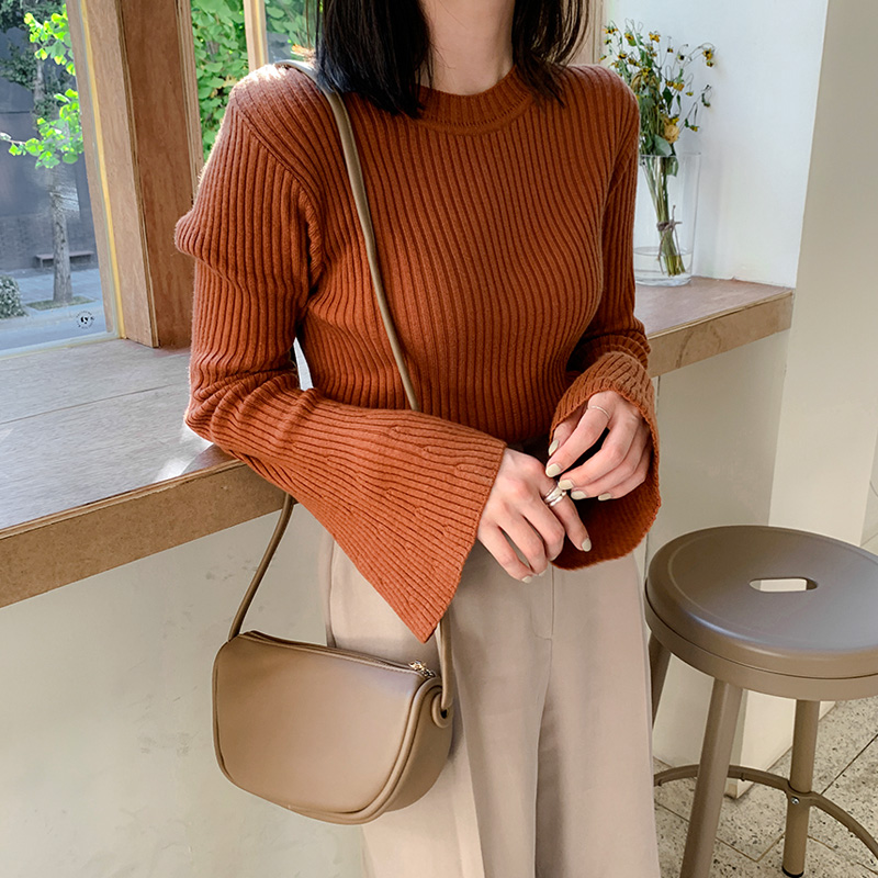 [made by] wide sleeve knit (* 4color)
