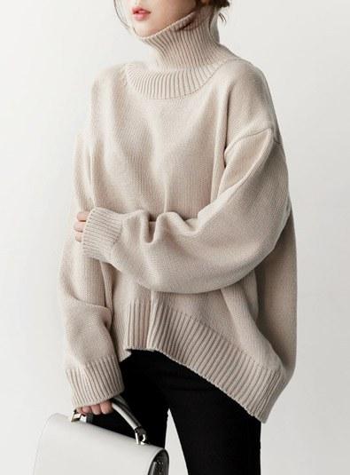 Turtleline knit (* 5color)