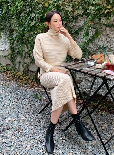 Unbala Polar knit set (* 2color)