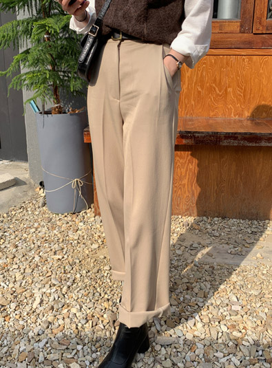 Deer wide pants (* 2color)