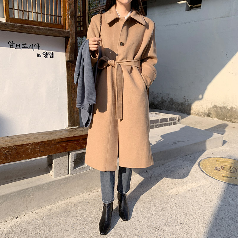 [Removable Nappy Set ♥] Mare Handmade Coat (* 2color)