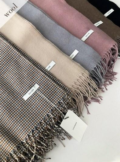Wool wool 30-muffler Deli (* 6color)
