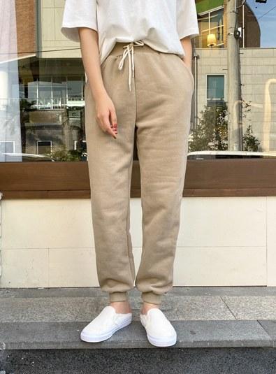 napping jogger pants (* 3color)