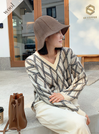Wool wool 30] [bold wire hat (* 6color)