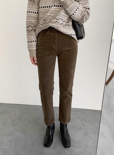 [Span Material ♥] Dei Goldenen Pants (* 2color)