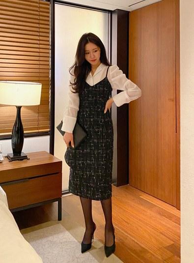 Recommend Setco-♥-Tweed Lauren ops (* 2color)