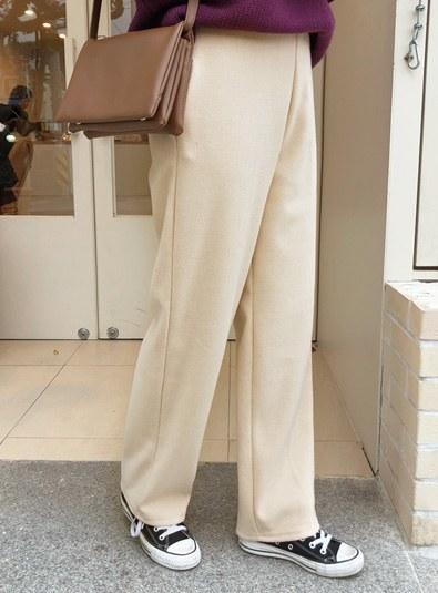 [free size] Levin Banding pants (* 3color)