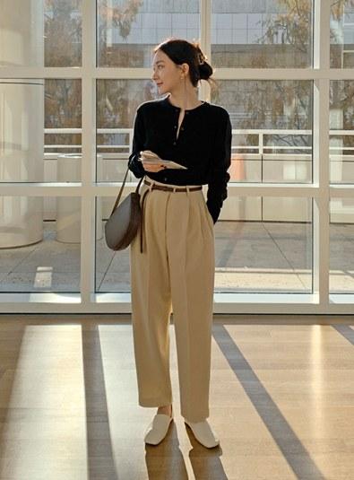 [Model Recommendation ♥] Benen Pintuck pants (* 2color)