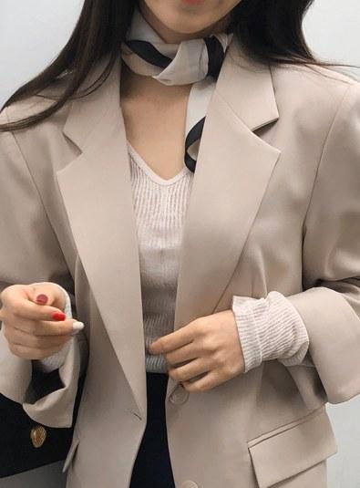 Useful scarf (* 3color)