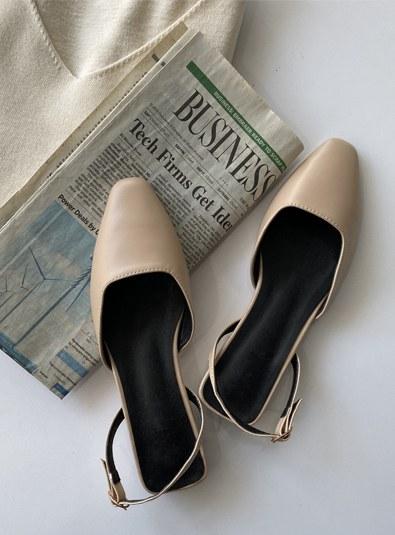 Warm Sling backs shoes (* 5color)