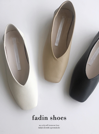 Faydine shoes (* 3color)